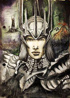 Sauron by Galinaxsim on deviantART