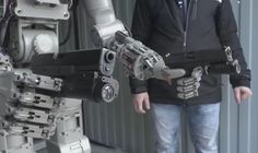 Ladies And Gentlemen Russia Has Created A Real Life Terminator 😲 Well, I guess it's time for me to join the resistance. Russia's space-bound humanoid robot FEDOR (Final Experimental Demonstration. Robot Humanoïde, Make A Robot, Combat Robot, Military Robot, Autonomous Robots, Security Consultant, Humanoid Robot, Really Funny Pictures, Shooting Guns