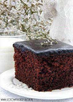 Prosty piernik czekoladowy - Gotuję, bo lubię