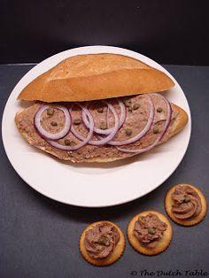 Filet Americain (Dutch Raw Beef Spread)