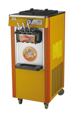 3 flavors soft ice cream machine/commercial ice cream making machine/ice cream machine with CE approved