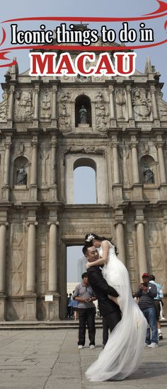 Macau's most famous landmark is the Ruins of St Paul's  #visitmacau #asia #travel2next