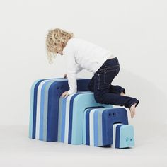 Fun Furniture you can play with!  Read more from www.happymamahappykids.com                      #organictoy #babytoy #organicfurniture #ecofurniture #babyfurniture #kidsfurniture #homedecor #affiliate