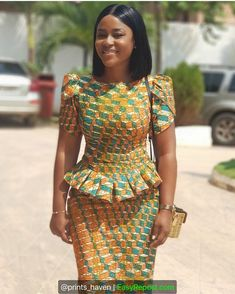 Looking for inspiration of beautiful African fashion dress styles to rock to your event. Latest African Fashion Dresses, African Dresses For Women, African Print Dresses, African Print Fashion, Africa Fashion, African Attire, African Wear, African Dress Designs, African Fashion Designers