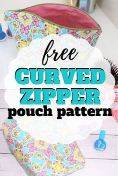 Follow along with this easy zipper pouch tutorial to make your own cosmetic bag.