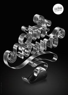 Typography inspiration. Stick around