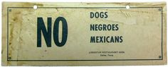 Although racism and discrimination once existed towards African-Americans once, it has continued to exist and it has increased towards hispanics but Mexicans in general.