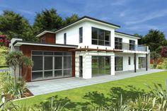 Beautiful Bungalow Design Ideas : Modern Bungalow Design Ideas Contain Of Much Glass Door
