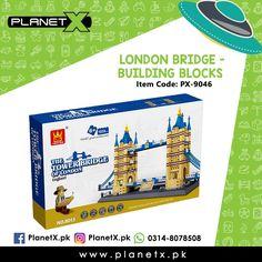 Product: London Bridge - Building Blocks Item Code: PX-9046 Price: Rs 4750  @planetx.pk  Whatsapp: 03148078508  Description: - LEGO COMPATIBLE - Enhances childs creativity and imagination. - Type: Building Blocks (1033 PCS) - Color: Multi-Color - Weight: 1.5 kg - Dimensions: 28 x 17.6 x 49.6 cm (HxWxL) - Age: 3 years  #CashOnDelivery #Pakistan #Karachi #Islamabad #Lahore #PlanetX #PakistanShopping #LikeForLikes #F4F #FollowForFollow #LearningKids #Toy #InstagramPakistan #ShopNow #OrderNow…