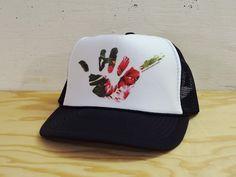 e098407f190b8 Hawaii Domestic Market Foam Trucker Hat - Shaka Floral