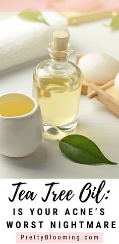 Are you interested in natural ways to get rid of acne? Then surely tea tree oil is something you must try. Just take some time to educate yourself, why tea tree oil is your acne's worst enemy. Click the im Back Acne Treatment, Spot Treatment, Tea Tree Oil For Acne, How To Get Rid Of Acne, Health And Fitness Tips, Health Tips, Oils For Skin, Good Skin, The Cure