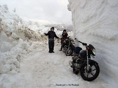 Adventure Rider. Yeh yeh, I know you said it was going to be cold where we riding, but you didn't say how cold.