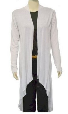 New Mood Womens Long Sleeved Waterfall Cardigan available in multi ...