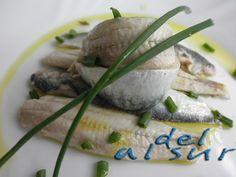 Sardinas en vinagre Aficionados, Camembert Cheese, Dairy, Pudding, Meat, Chicken, Healthy, Desserts, Blog