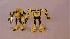 Customized Transformers Titans Return Bumblebee - GotBot True Review NUM...