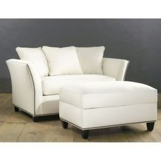 Tate Twin Sleeper with Storage Ottoman | Ballard Designs Would love a large lounge chair for beach.