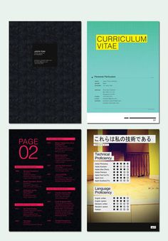 Booklet resume