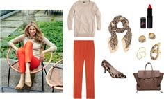 """""""Outfit Inspiration: Double Animal Print"""" by caphillstyle on Polyvore"""
