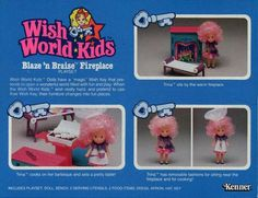 Wish World Kids was probably one of my favorite toys...besides Barbies.