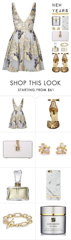 """""""porcelain china girl"""" by undercover-martyn ❤ liked on Polyvore featuring Notte by Marchesa, Dolce&Gabbana, Ruth Tomlinson, Norell, Richmond & Finch, David Yurman and Estée Lauder"""