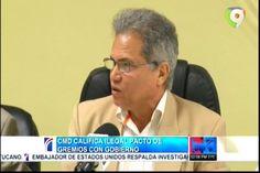"""Presidente del CMD califica de """"ilegal"""" pacto de gremios con el gobierno"""