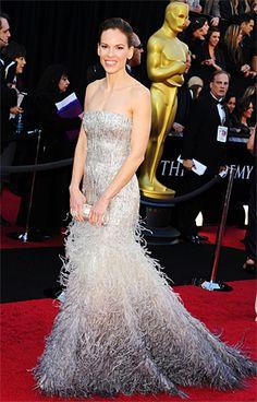 hillary swank. Oscars 2011.