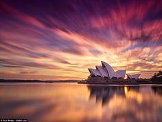 Durante quatro anos, Paul Reiffer dedicou-se a fotografar  o nascer e o pôr-do-sol.