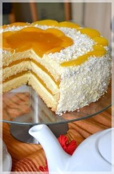 Tort śmietankowo- brzoskwiniowy i WORLD BAKING DAY Polish Desserts, Cookie Desserts, Dessert Recipes, Lemon Cheesecake Recipes, Chocolate Cheesecake Recipes, Easy Blueberry Muffins, Unique Desserts, Sweets Cake, Relleno