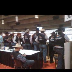 cowboys, Houston Livestock Show & Rodeo 2012