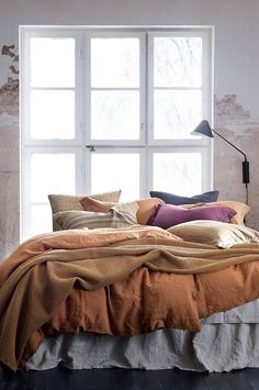 Sängkappa Candice i tvättat lin My Dream Home, Dream Homes, Decoration, Decorating Your Home, Comforters, Home Goods, Blanket, Interior, Modern