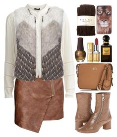 """""""I Can Be Your China Doll"""" by daizydreamer ❤ liked on Polyvore featuring Elizabeth Arden, H&M, VILA, Urbancode, Marc Jacobs, Tory Burch, Tom Ford, SpaRitual and Falke"""