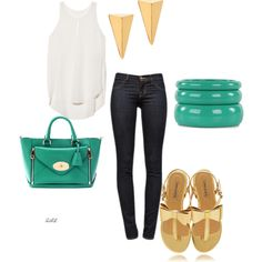 """""""Casual Summer Fashion"""" by zal-styles on Polyvore"""