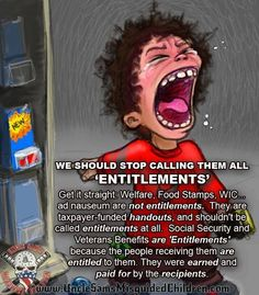 Right Wing Humor: Food Stamp are not Entitlements, but rather Handou...