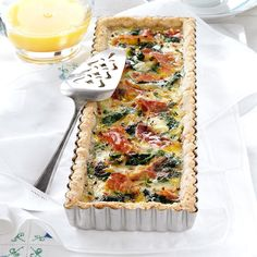 Brie and Prosciutto Tart Recipe from Taste of Home