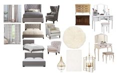 Спальня by irina-volchenko on Polyvore featuring interior, interiors, interior design, дом, home decor, interior decorating, Poundex, Homelegance, DutchCrafters and Calvin Klein