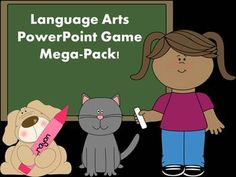 This Mega Pack contains ten Language Arts PowerPoint Games aligned with the Common Core Standards. The skills covered in these PowerPoints are: prefixes& conjunctions& sentences, collective nouns, pronouns (including reflexive pronouns), singular& Prefixes And Suffixes, Synonyms And Antonyms, Common And Proper Nouns, Collective Nouns, Singular And Plural, Powerpoint Games, Fact And Opinion, Teaching Grammar, Mega Pack