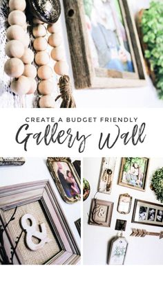 Creating a Budget Friendly Gallery Wall | Roost + Restore