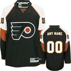 b6a6d951fdd Philadelphia Flyers black Customized Your Name Number Hockey, Nhl Jerseys, Philadelphia  Flyers, Black