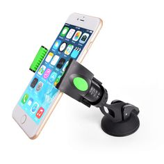 Car Wind Shield Smartphone Holder for 3.5 to 6.3 Inches iPhone6 6plus SamsungS6 Note