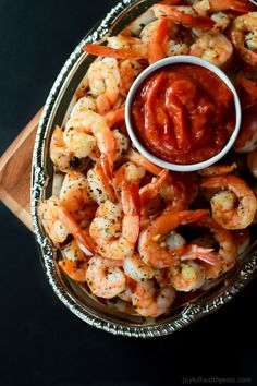 OMG these Shrimp are done in 10 minutes and are seriously amazing! Perfect appetizer for the holidays!   www.joyfulhealthyeats.com