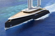 The new creation of the French shipyard, VPLP Desing goes above and beyond the definition of a yacht or sailboat.