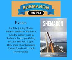 Meet The Authors at Tarbert Loch Fyne Gallery