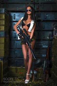 Girls and Guns are Sexiest Combination