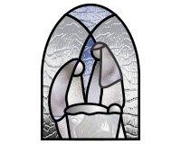 Easy nativity suncatcher simpler still | PDQ Patterns