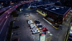 Exterior Lighting Renovation Improves Aesthetics and Reduces Energy Consumption for Multi-Use Building - Electrical News Greenfield Park, Engineering Consulting, Commercial Construction, Exterior Lighting, Real Estate Investing, Photos, Energy Consumption, Building, Aesthetics