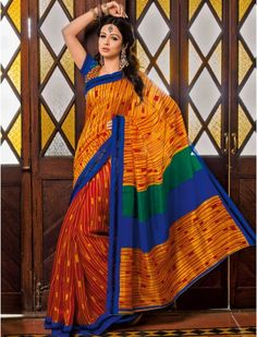 Casual Saree With Blouse