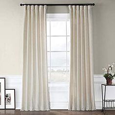 Buy Barley Heavy Faux Linen Curtain at best prices. Large savings on Cotton Linen Curtains and drapes for window treatments by half price drapes. Curtains 1 Panel, Faux Silk Curtains, Room Darkening Curtains, Velvet Curtains, White Linen Curtains, Country Curtains, Thing 1, Custom Drapes, Space Furniture