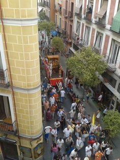 Detalle del Barrio Maravillas.
