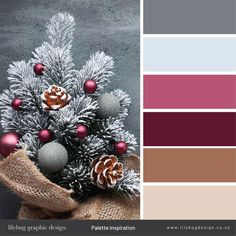 Christmas Colour Palette - Lilybug Graphic Design