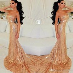 Charming Mermaid Sequins Prom Dress,Sexy Sweetheart Evening Dress,Sleeveless Beading Prom Gown
